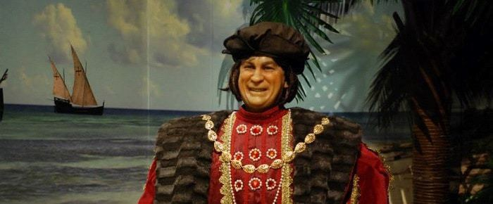 Portuguese Discover in Wax Museum in Lagos