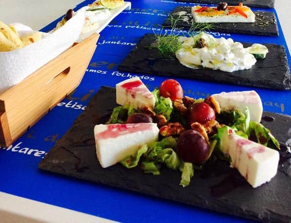 Some of the beautiful food at Pita Gourmet restaurant, Albufeira