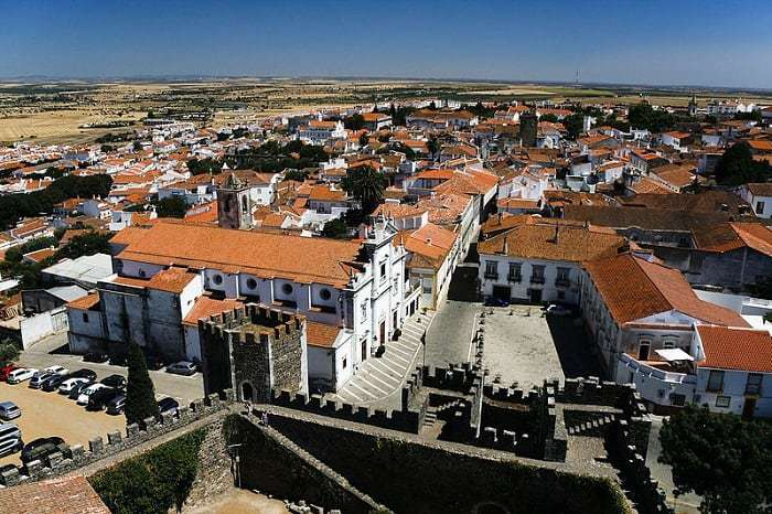 Panoramic view of Beja