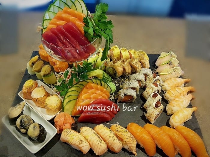 sushi bar Wow (monte gordo)